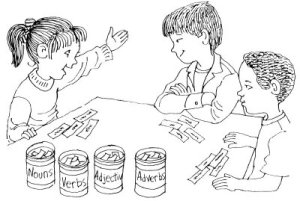 Salah satu Word Games untuk anak-anak.