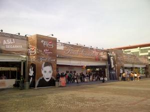 Foodcourt di JJF 2013.